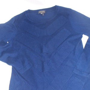 Vince Camuto knit sweater blue size small